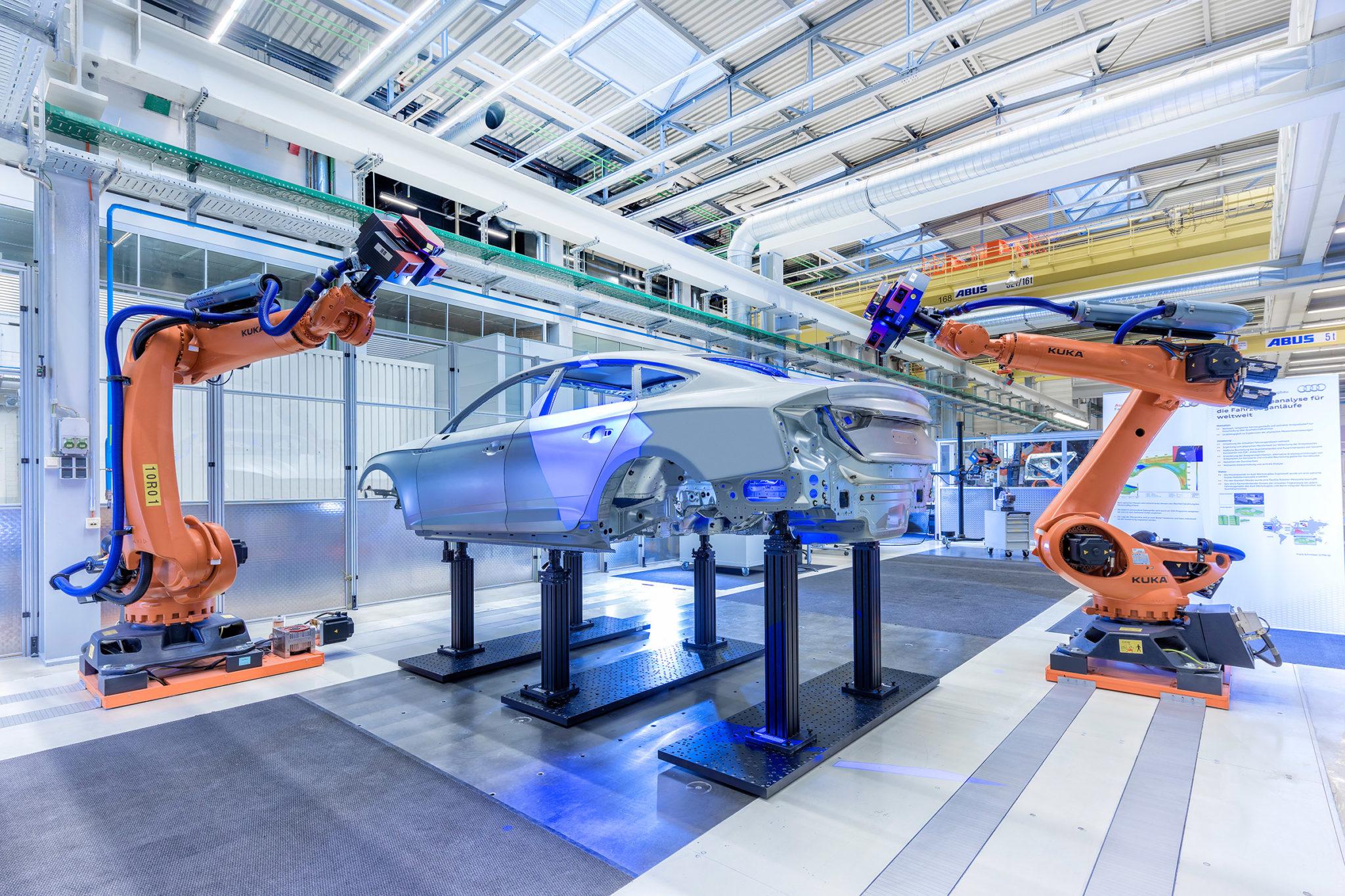 Smart Factory Automotive Manufacturing