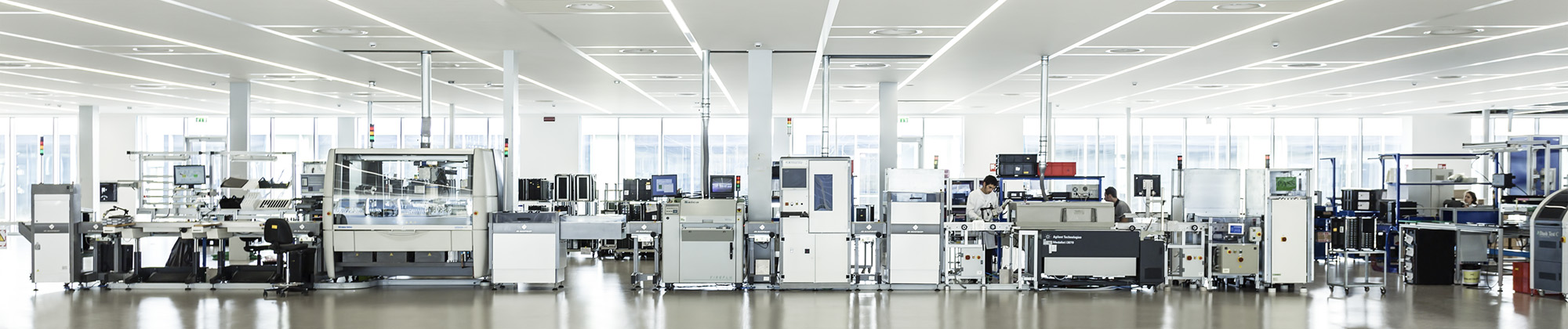 Electronics Circuit Board Manufacturing and Assembly Line