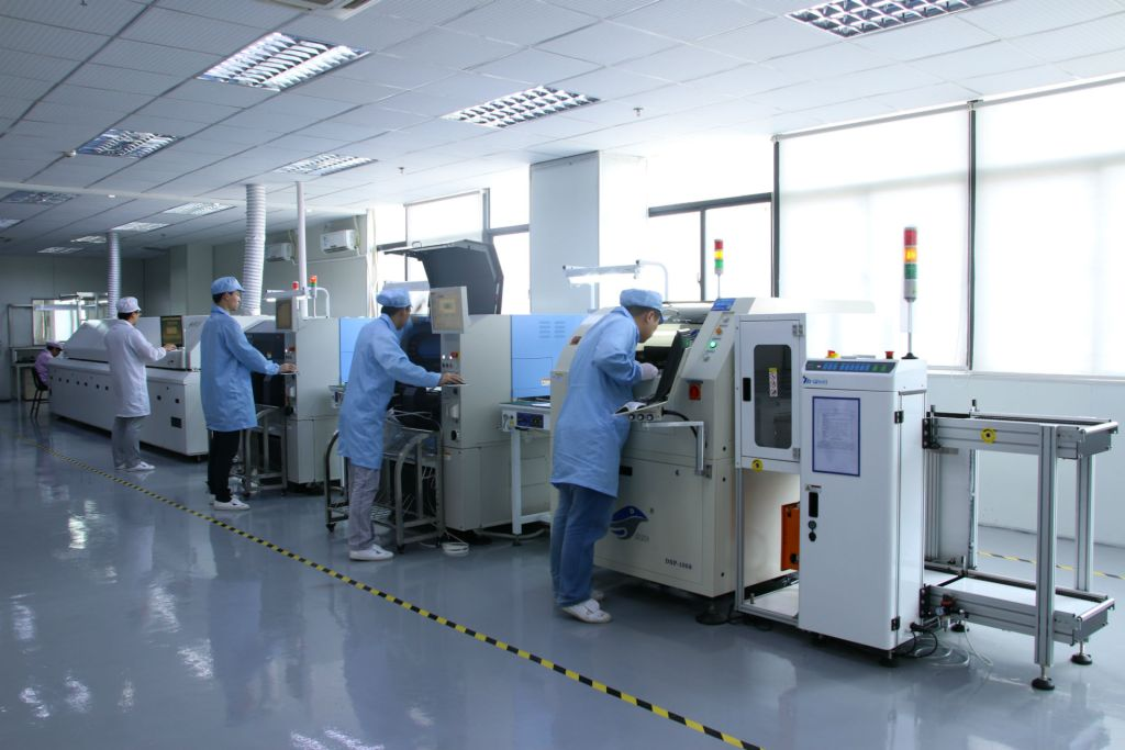 Assembly Line PCB Electronics